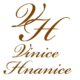 Logo VH - hnědé